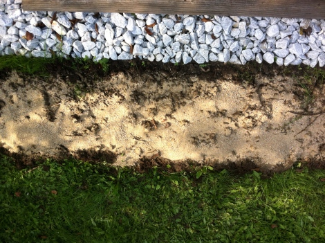 Und natürlich Quarzsand. Das alles soll den Boden ordentlich lockern und den Blumen die besten Voraussetzungen schaffen.